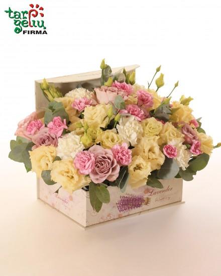 """Gėlių dėžutė """"Tyrumas"""""""