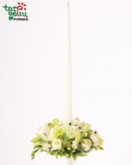 Dekoruota žvakė