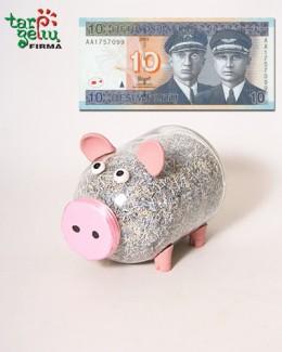 Kiaulės taupyklės nostalgija LITUI