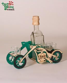 """Butelio laikiklis """"Motociklas"""""""