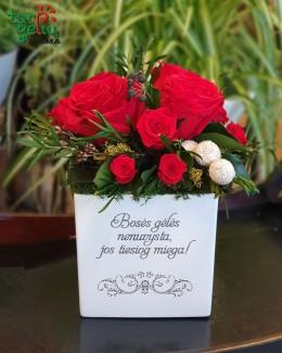 Bosės gėlės nenuvysta...