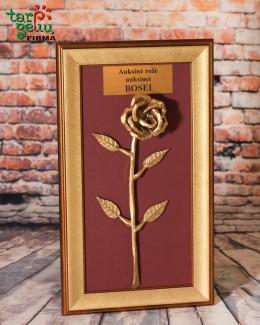 Auksinė rožė auksinei Bosei