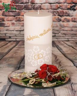 Žvakė vestuvių proga
