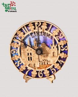 """Laikrodis su gintaru """"Lietuva"""""""