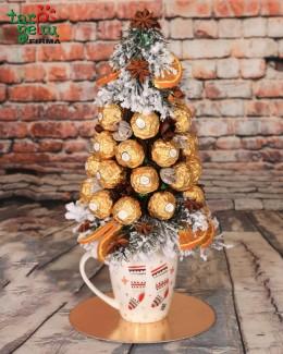 "Saldainių eglutė ""Roche Ferrero"""