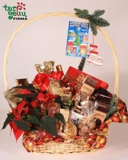 Kalėdinis krepšelis tėveliams