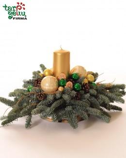 Šventinė kalėdinė kompozicija