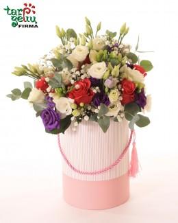 """Gėlių dėžutė """"Gimtadienis"""""""