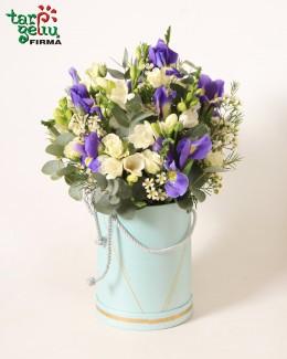 """Gėlių dėžutė """"Tik tau"""""""