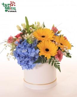 """Gėlių dėžutė """"Hortenzija"""""""