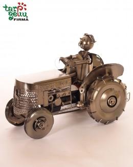 """Laikiklis buteliui """"Traktorius Super ūkis """""""