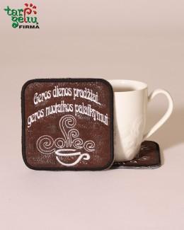 Padėkliukas kavos puodeliui
