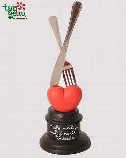 """Suvenyras """"Meilė meile, o valgyt noris visada!"""""""