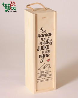 """Vyno dėžė """"Namai"""""""