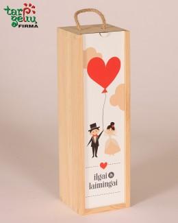 """Vyno dėžė """"Ilgai ir laimingai"""""""