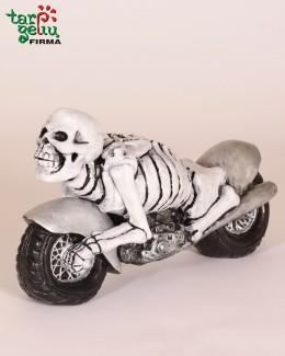 """Suvenyras """"Giltinė ant motociklo"""""""