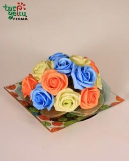 Muilo rožių kompozicija