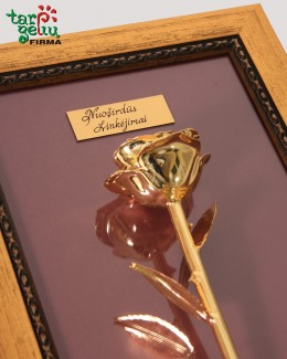 """Dovana """"Auksinė rožė"""""""