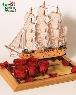 """Dovana""""Laivas su palinkėjimu"""""""