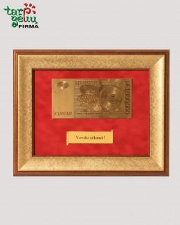 1 milijonas auksinių eurų