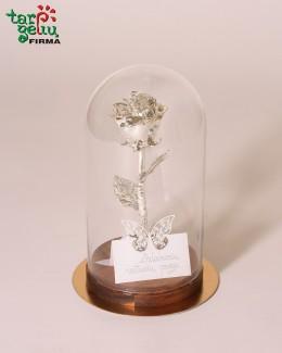 Rožė sidabrinių vestuvių proga