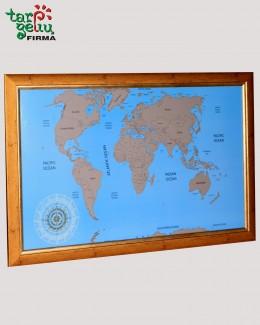 Originalus keliautojo žemėlapis