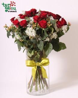 """Rožių puokštė """"Meilė Tau"""""""