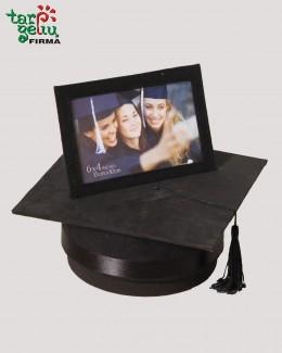 Studentiška kepurė-rėmelis