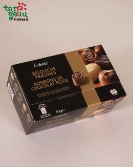 Belgiško šokolado saldainių asorti