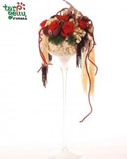"""Kompozicija """"Prabangios rožės"""""""