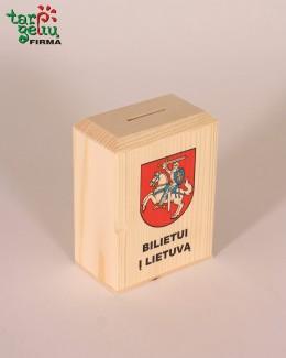 "Taupyklė ""Bilietui į Lietuvą"""
