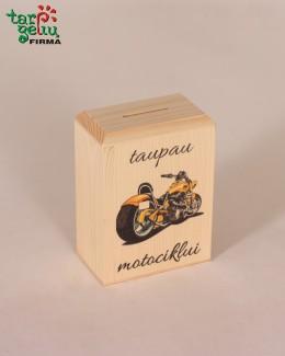 """Taupyklė """"Taupau motociklui"""""""