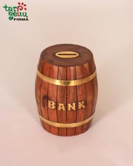 """Taupyklė statinė """"Bankas"""""""