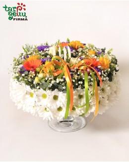 """""""Gėlių tortas"""""""