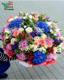 Gražiausių gėlių puokštė