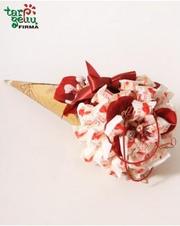 Saldainių puokštė