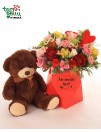 """Gėlių dėžutė """"Su meile..."""""""