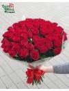 Bordo rožių puokštė