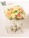 Romantiška rožių puokštė