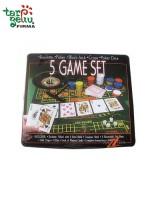 5 žaidimų rinkinys