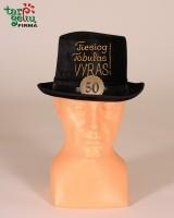 """Jubiliejinė kepurė """"Tiesiog tobulas vyras"""""""