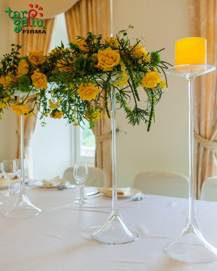 Vestuvinio stalo puošimas SAULĖ