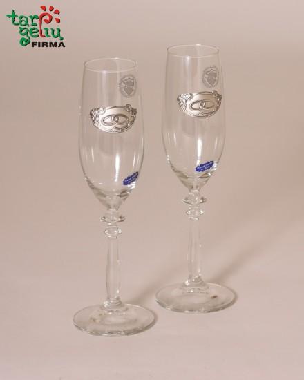 Taurės šampanui VESTUVĖS