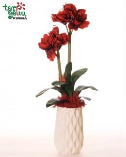 Dirbtinių gėlių kompozicija AMARILIS