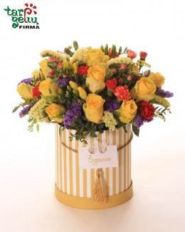 Летняя цветочная коробка