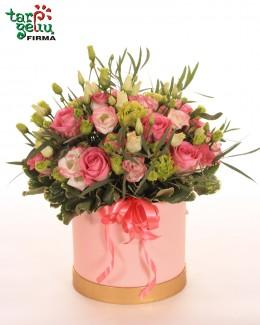 "Коробка с розами ""Улыбка"""