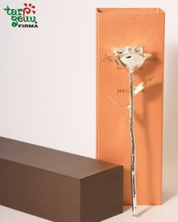 Серебряная роза