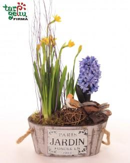 """Композиция из растений """"Весна"""""""