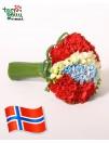 """Букет """"Приветствия из Норвегии"""""""