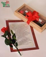 """""""Любовное письмо и роза"""""""